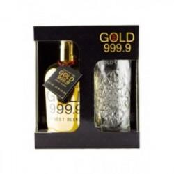 Gin Gold 999.9 + verre