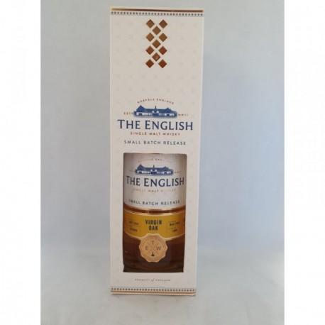 Whisky The English Smokey Virgin Oak (Chêne Nouveau)